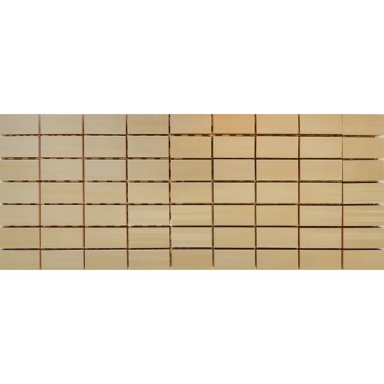 Płytka ścienna ORGANZA beżowa mozaika mat 20x50 gat. I