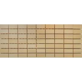 Płytka ścienna ORGANZA beige mozaika mat 20x50 gat. I