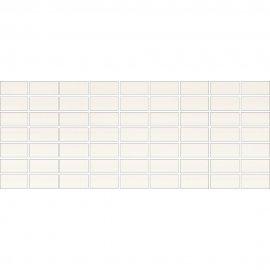 Płytka ścienna ORGANZA white mozaika mat 20x50 gat. I