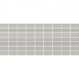 Płytka ścienna ORGANZA grey mozaika mat 20x50 gat. I