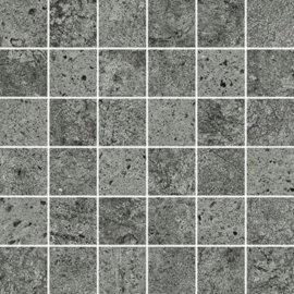 Gres szkliwiony mozaika NEWSTONE graphite mat 29,8x29,8 gat. I