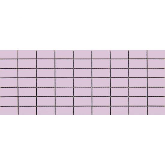 Płytka ścienna CAPRI fioletowa mozaika błyszcząca 20x50 gat. I