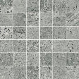 Gres szkliwiony mozaika NEWSTONE grey mat 29,8x29,8 gat. I