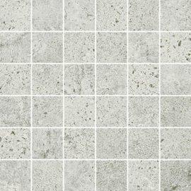 Gres szkliwiony mozaika NEWSTONE light grey mat 29,8x29,8 gat. I