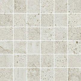 Gres szkliwiony mozaika NEWSTONE white mat 29,8x29,8 gat. I