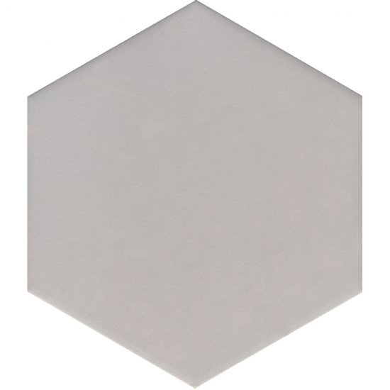 Gres szkliwiony SOLID HEXAGON light grey mat 21,5x25 gat. I