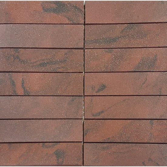 Gres zdobiony mozaika SATURN red mat 29,5x29,5 gat. I