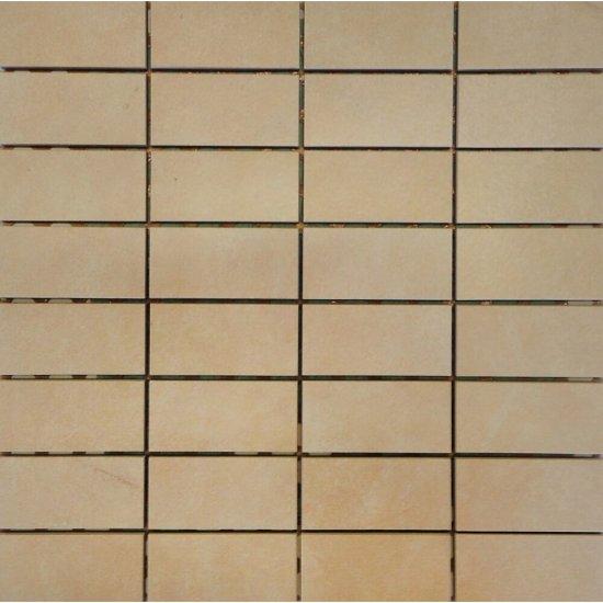 Gres szkliwiony mozaika ARENISCA beż mat 29,7x29,7 gat. I