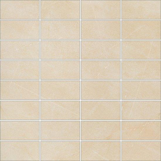 Gres szkliwiony ARENISCA kremowy mozaika mat 29,7x29,7 gat. I