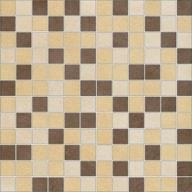 Gres szkliwiony mozaika ARENISCA multikolor mix mat 29,7x29,7 gat. I