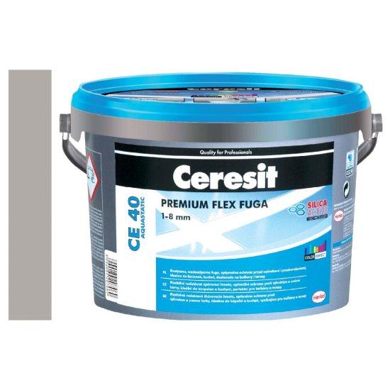 Fuga elastyczna CERESIT CE 40 cementgray 2 kg