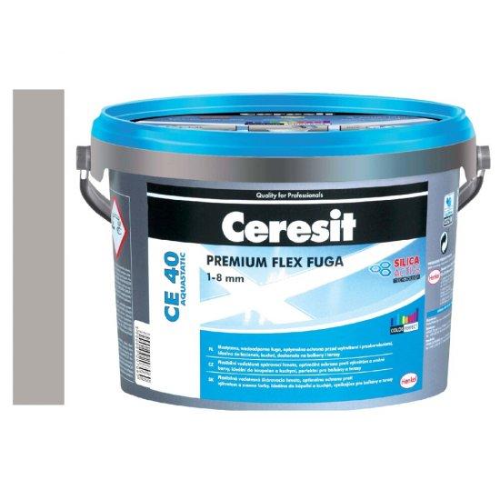 Fuga elastyczna CERESIT CE 40 cementgray 5 kg