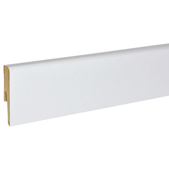 Listwa przypodłogowa Modena 70 Classic biała 2,4 m KORNER