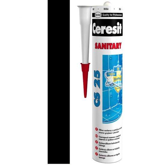 Silikon sanitarny CERESIT CS 25 coal 280 ml