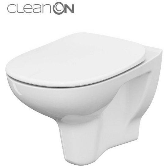 Miska WC podwieszana ARTECO NEW deska polipropylenowa wolnoopad