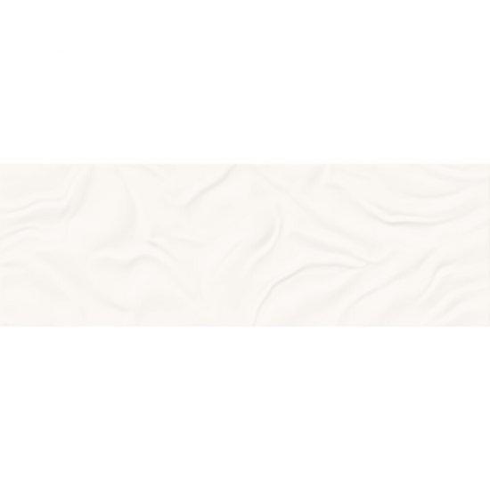 Płytka ścienna FROZEN LAKE white struktura satyna 39,8x119,8 gat. I