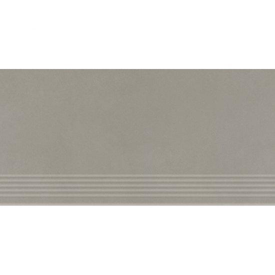 Gres zdobiony stopnica URBAN MIX grey mat 29,55x59,4 gat. I