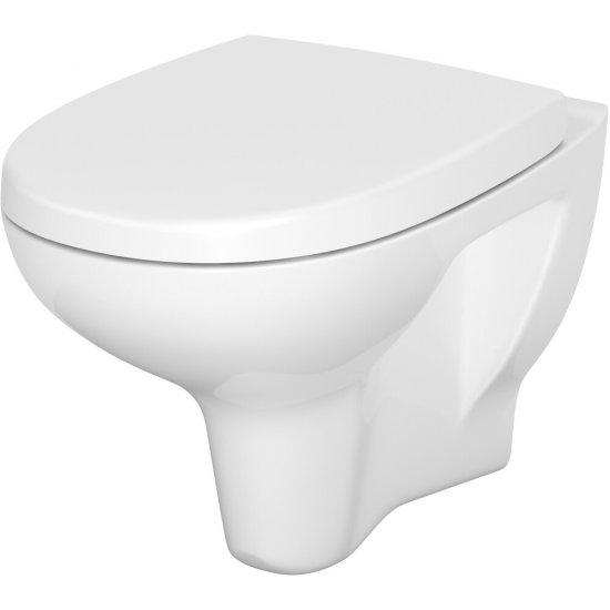 Miska WC podwieszana 813 ARTECO NEW deska duroplast antybakt wolnoopad łatwe wyp