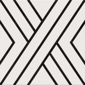 Gres szkliwiony BLACK LINES 29,8x29,8 gat. I Cersanit