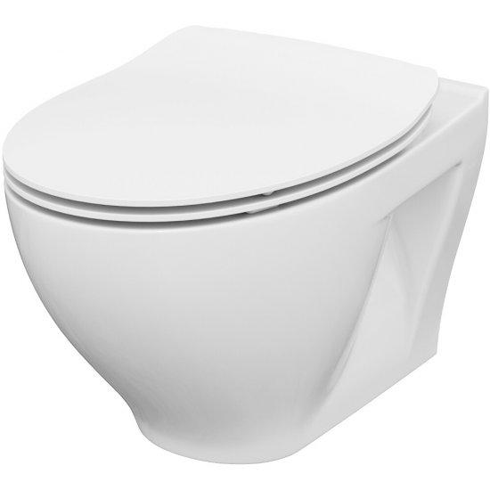 Miska WC podwieszana MODUO deska duroplastowa antybakt wolnoopad