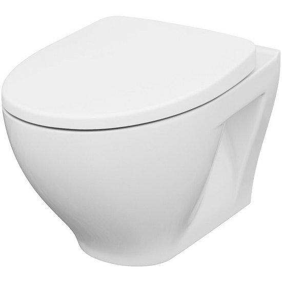 Miska WC podwieszana MODUO deska wrap duroplastowa antybakt wolnoopad