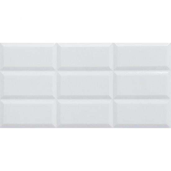 Płytka ścienna BABILON SHINY white shiny 30x60 gat. I
