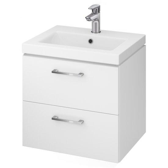 Szafka z umywalką LARA COMO 50 biała DSM