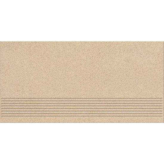 Gres techniczny stopnica KALLISTO cream mat 29,7x59,8 gat. I