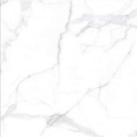 Gres szkliwiony BROAD PEAK white polished 80x80 gat. I