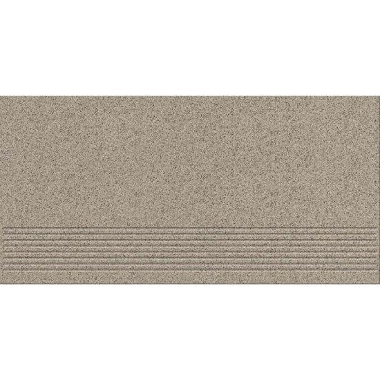 Gres techniczny stopnica KALLISTO grey mat 29,7x59,8 gat. I