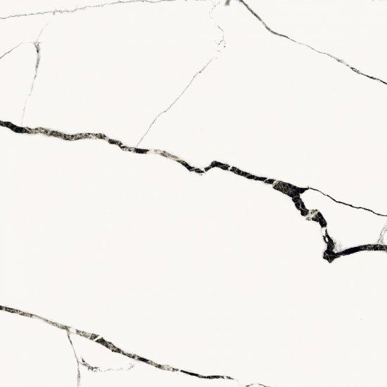 Gres szkliwiony ETERNAL white polished 79,8x79,8 gat. II