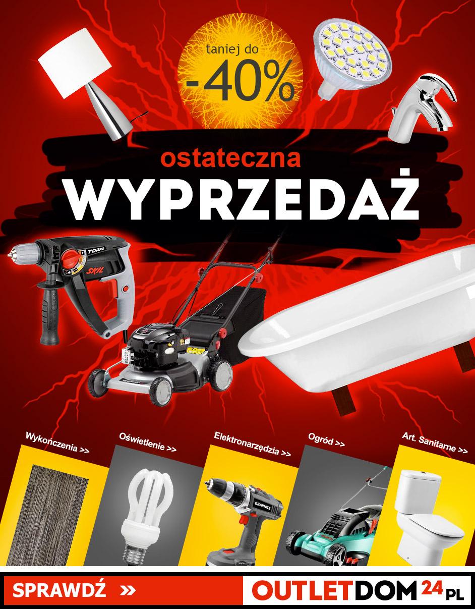 Wyprzedaż Outletdom24.pl