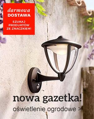gazetka oświetlenie ogrodowe