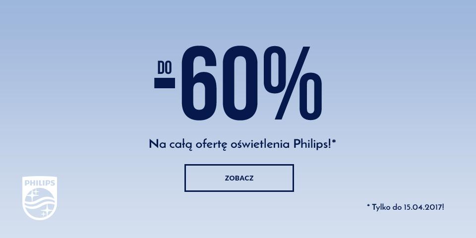Philips do 60% taniej!